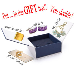 Ceramic and Metal Gifts Set of Enamel Pins, Keychains, Cufflinks, Candle Holders and Phone Holders with Box
