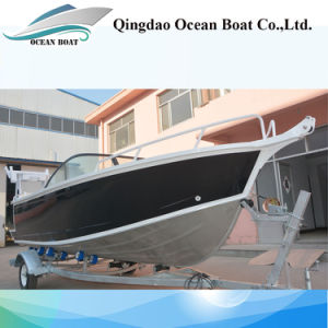China Manufacturer 5m Bowrider Aluminum Fishing Boat