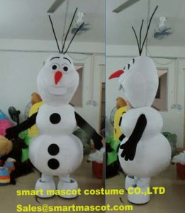 Frozen Mascot Costume Adult Olaf Snowman Costume & China Frozen Mascot Costume Adult Olaf Snowman Costume - China Olaf ...