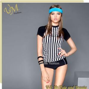 92532493bf5ce China Flexible Sport Tankini Shorts and T Shirt Swimwear - China ...