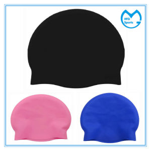 Adult Silicone Sports Bathing Caps for Swimming pictures & photos