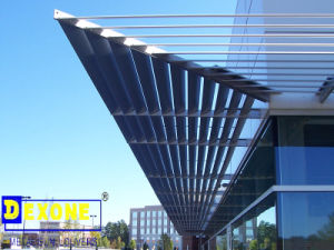 China Exterior Aluminum Roof Louver For Window