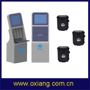 Police Camera Charging and Information Download Workstation