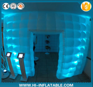 Rentable Lighted Wedding Backdrops Inflatable Photo Booth for Sale