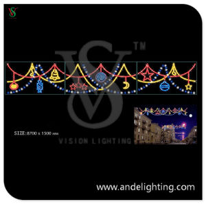 LED Christmas Motif Cross Street Lights with Ce RoHS Approved