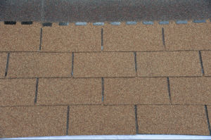Colorful 3-Tab of Roofing Asphalt Shingle