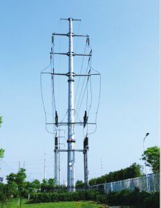 High-Quality Steel Pipe Transmission Tower pictures & photos