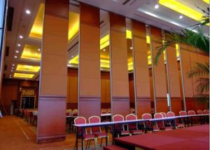 China Movable Sound Proof Airwalls Wood Partition Used in Interior Decoration
