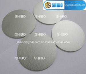 99.95% Pure Polished Molybdenum Round Discs pictures & photos
