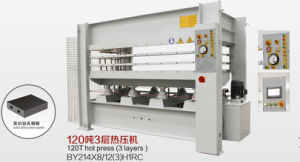 120t 3layers Hot Press Machine By214*8/12 (3) H1RC