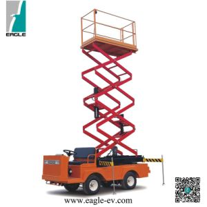 Electric Scissor Lift, Eg6060j, 6 Meter Lifting Height, 320kgs Loading Capcitty, 48V 5kw Motor, Curtis Controller pictures & photos