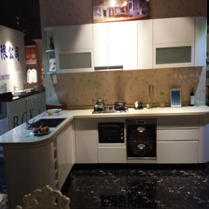 Modern High Gloss White Painting Kitchen Cabinet