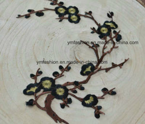 Stock Plun Blossom Garment Accessories Embroidery Flower Ym-40 pictures & photos
