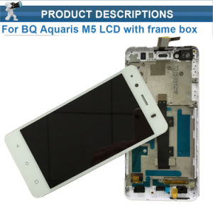 for Bq Aquaris M5 Full LCD Display Screen with Touch Screen Digitzer