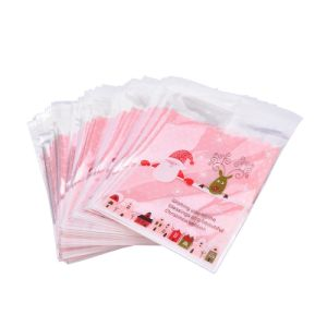OEM Christmas Gift Self-Adhesive Cookie Packaging Bags pictures & photos