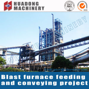 Steel Plant Vertical Belt Conveyor System EPC Project pictures & photos