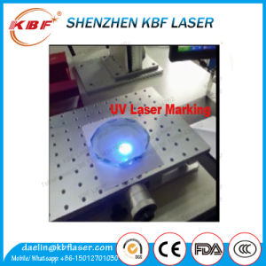 7W UV Laser Marking Machine for Safety Frame pictures & photos