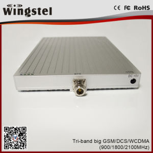 Gain 65dBi Output Tri Band GSM/Dcs/WCDMA Mobile Network Booster pictures & photos