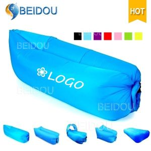 Factoryhotsale Lazy Air Sofa Bed Inflatable Lounger Bean Sleeping Lay Bag Laybag
