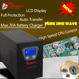 Battery Charger Inverter with Toroidal Transformer