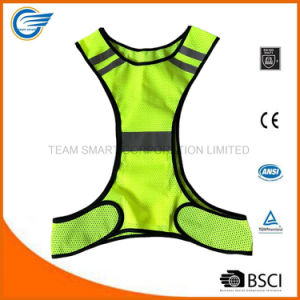 Amazon Hot Selling Reflective Safety Running Vest for Runner pictures & photos