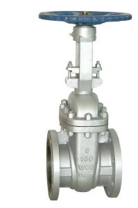 Stainless Steel ANSI Standard Gate Valve with Drawing