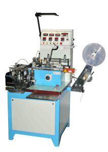 Automatic Label Cutting and Folding Machine with Roller-Type Feeding Mechanism (HY-486LR) pictures & photos