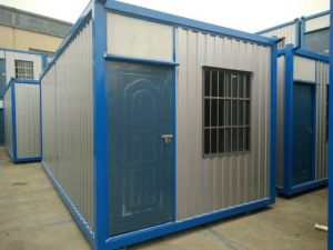 Fast Assemble Modular House with One Door Two Window pictures & photos