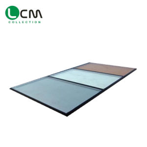 Low-E Clear Tempered Low-E Float Glass for Building Glass