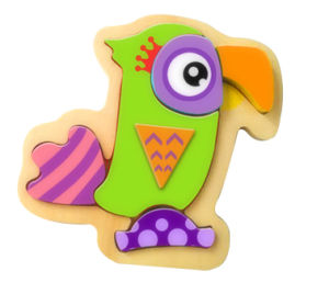 Hot Christmas Gift Wooden Parrot Puzzle Toy for Kids and Children pictures & photos