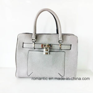 Wholesale Fashion Design Lady PU Handbags with Lock (NMDK-052502)