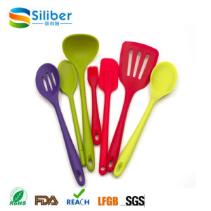 Hot Sales Cookware Accessories with Colorful Kitchen Utensils Set