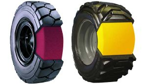 Foam Filled Tyre/PU Solid Tyre/Polyurethane Filled Tyre pictures & photos