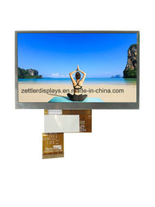 "4.3"" TFT Display Module with Resistive Touch Panel: ATM0430d25-T"
