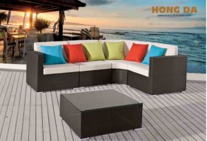 Outdoor Leisure Rattan Furniture Alu Sofa pictures & photos