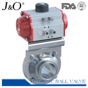 Pneumatic 3PCS for Bottom Tank Ball Valve pictures & photos