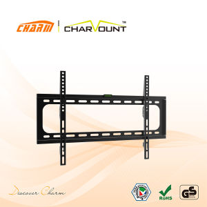 600X400mm 30mm Distance From Wall Fit for 32-70 Inch Screen Universal Tilting LCD Wall Mount Bracket (CT-PLB-E3003B) pictures & photos