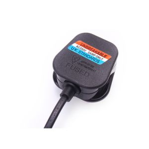 UK Plug with 303 Switch Power Cord 1meter Power Cord pictures & photos