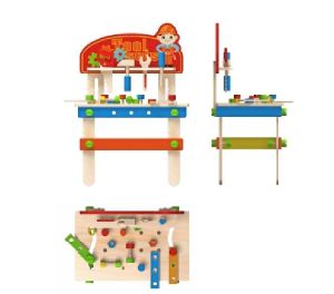 New Fashion Wooden Workbench Toy for Kids and Children pictures & photos