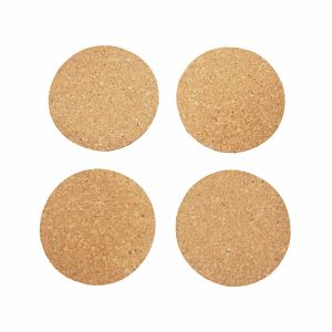 4 PCS Cork Coasters Set for Cups