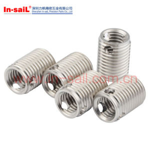 L3080 M6 Stainless Steel Self-Tapping Threaded Insert 12mm Length pictures & photos