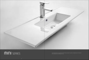 Feather Edge Basin Cabinet Sink (MINI-70) pictures & photos