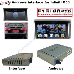 Car Video Interface for 2015 or Later Infiniti Q50 and Q60, Android Navigation Rear and 360 Panorama Optional pictures & photos