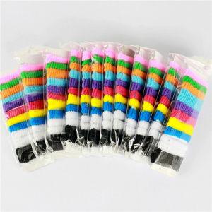 China Polypropylene Fiber Small Elastic Hair Bands Colorful Hair