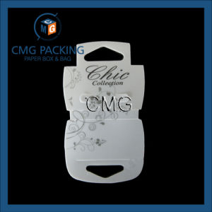 Custom Foldover Card Holder for Necklaces (CMG-045) pictures & photos