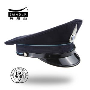 China Fashion Custom Made Black Military Major Hat - China Military ... df8cc0c20e4
