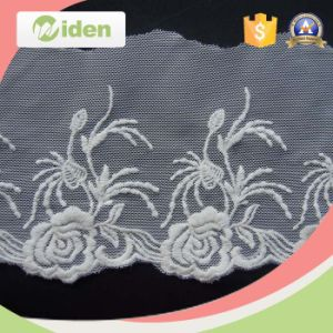 Fancy Lace Pattern Floral Lace Fabric Net Embroidery Lace Trimming pictures & photos