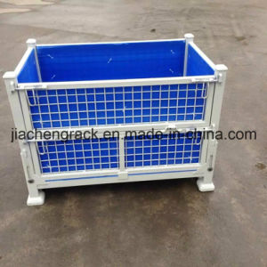 New Type Mesh Cage Pallet with Calcium-Plastic Board pictures & photos