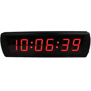 [Ganxin] LED Digital Large Smart Mounted Digital Wall Clock Alarm Clock