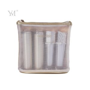 Factory Price Stand Mesh Pouch Cosmetic Bag